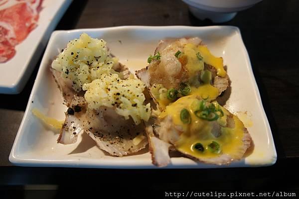 焗烤/奶油扇貝