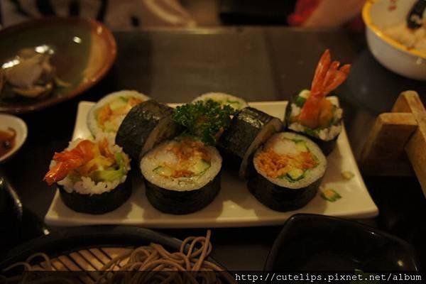 炸蝦壽司2011/9/25