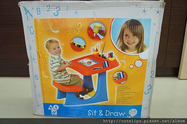 Baby Joy特殊設計歡樂學習桌