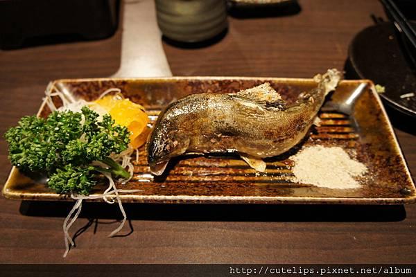 580元定食-烤魚