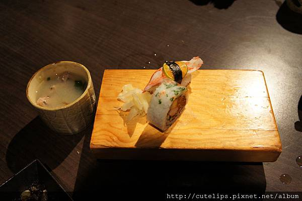 230元中食-味噌湯&壽司