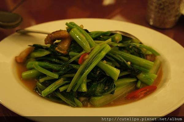 脆皮蠔油芥蘭菜