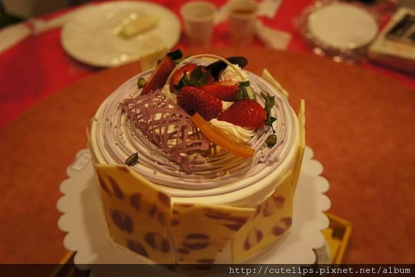 上層-芋泥蛋糕