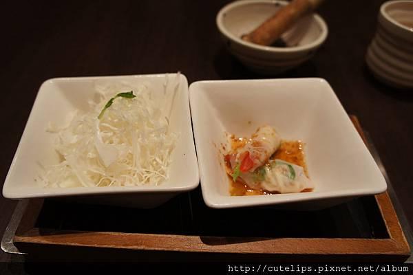 高麗菜絲&前菜2011/11/14