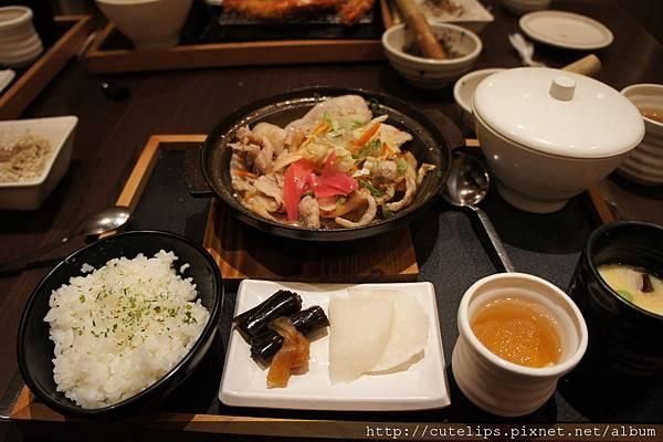 薑汁櫻花豚肉2011/11/14