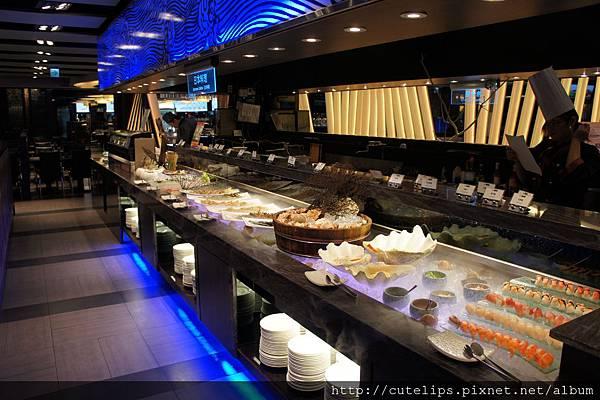 日本料理區
