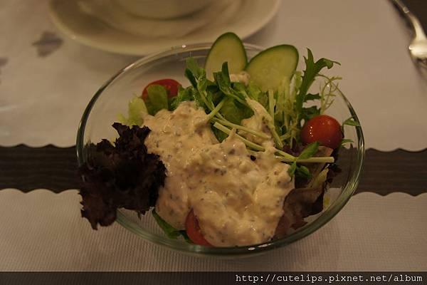 田園沙拉(千島醬)