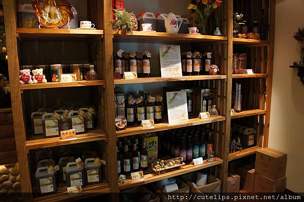 蜂蜜販賣區