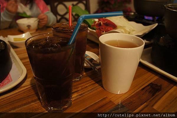 紅茶&熱綠茶