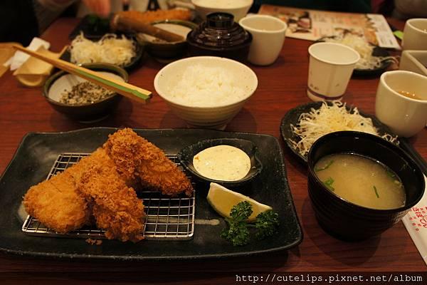 日本廣島牡蠣套餐B