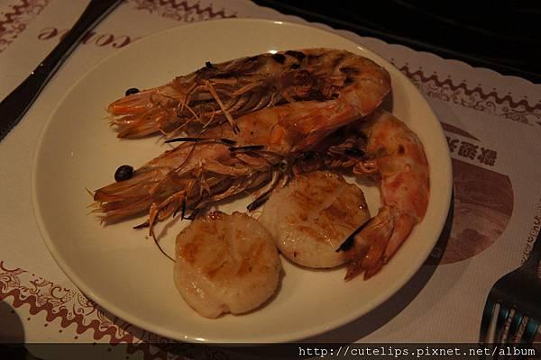 蝦海(明蝦+干貝)