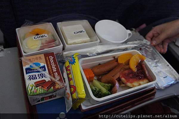 機上兒童餐