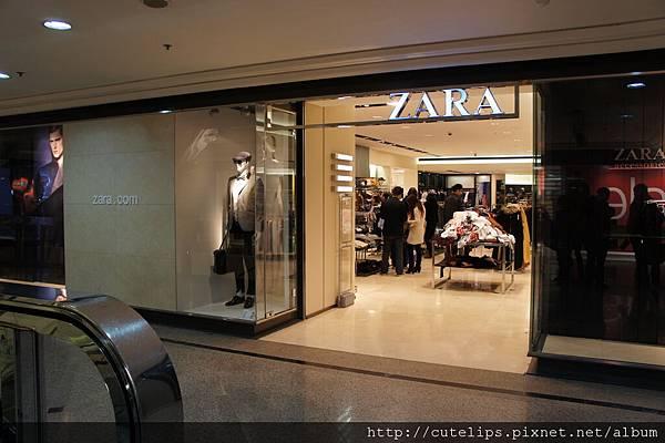 ZARA(時代廣場內)