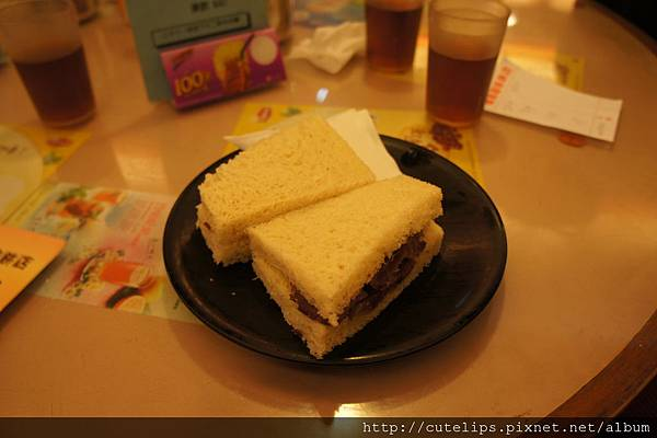 叉燒三明治