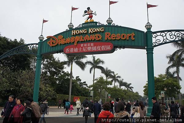 迪士尼~我們來了