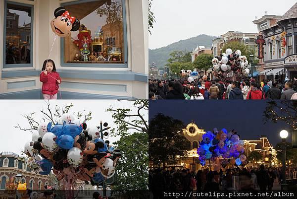 迪士尼氣球