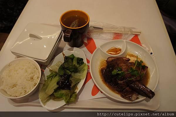 燒味雙拼飯(叉燒&燒鵝)