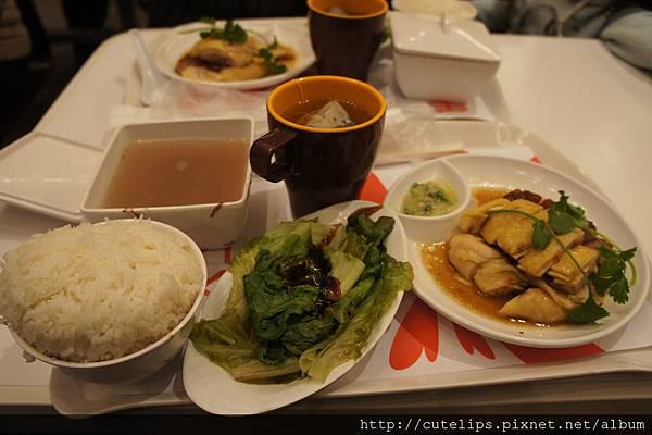 燒味雙拼飯(叉燒&油雞)