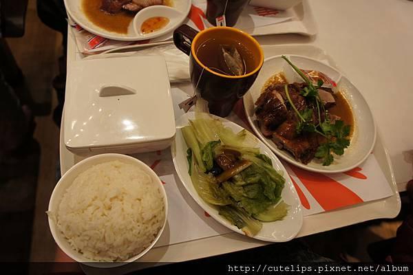 燒味雙拼飯(叉燒&燒鴨)