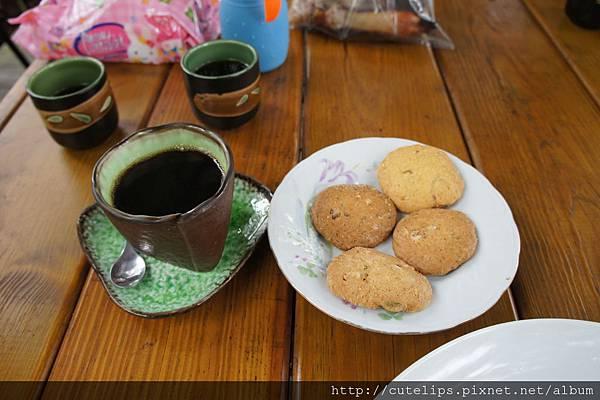 咖啡&餅乾