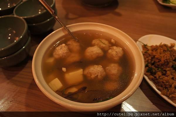 泰式肉末豆腐湯