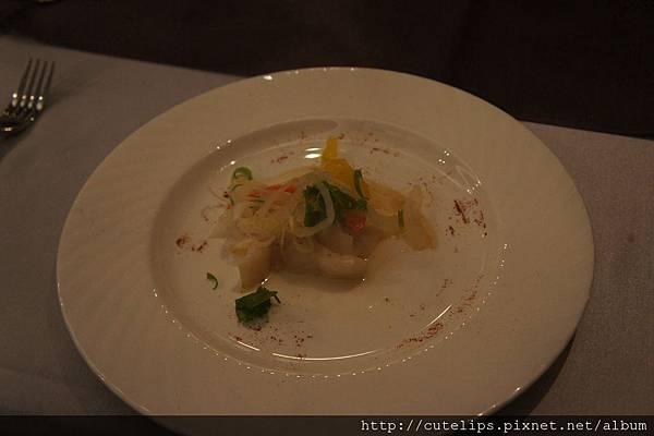 勃根地鮮魚熱沙拉