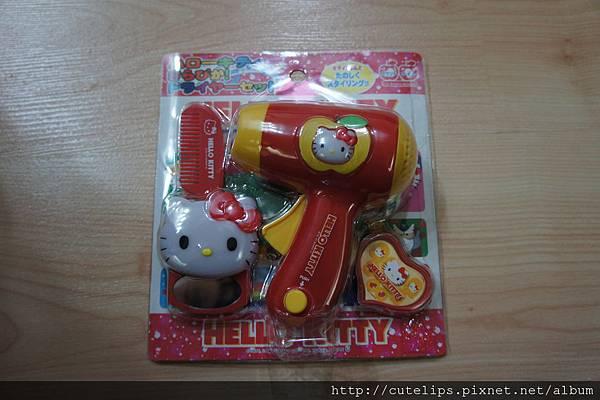 kitty吹風機玩具
