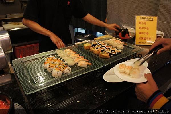 握壽司、手卷區