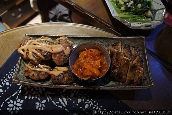 漢堡肉&烤豬肉