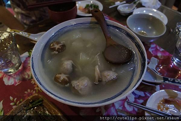 冬瓜貢丸湯