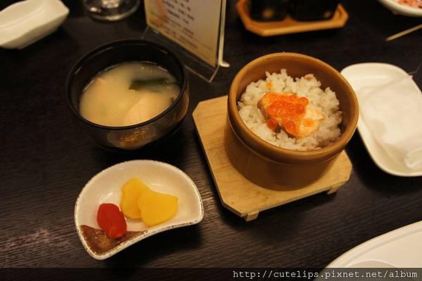 香蒜規魚蒸飯、味噌湯&日式小菜101/5/6