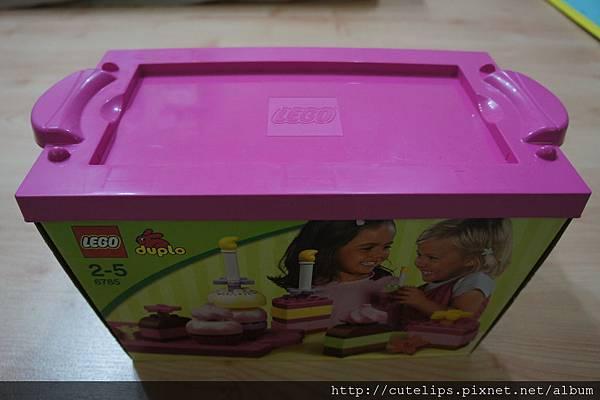 樂高得寶系列-粉紅蛋糕套裝