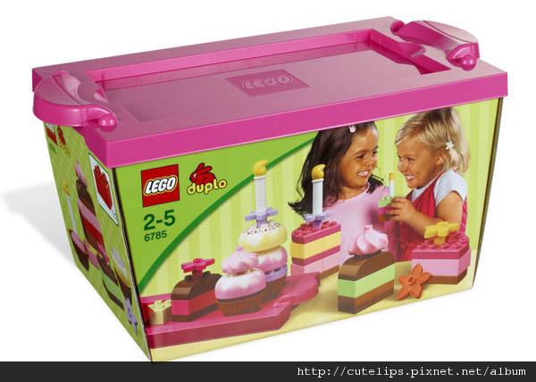 官網上的粉紅蛋糕套裝圖片