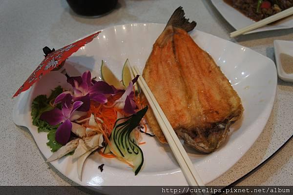 香煎彩虹鱒魚