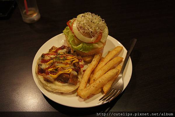 湯種小漢堡-雞肉起士堡
