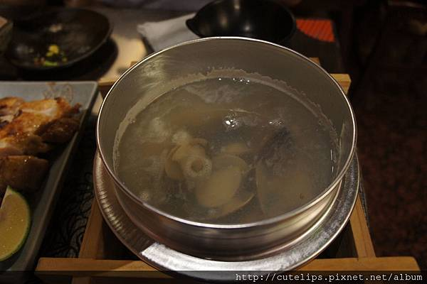 蒜頭蛤仔湯