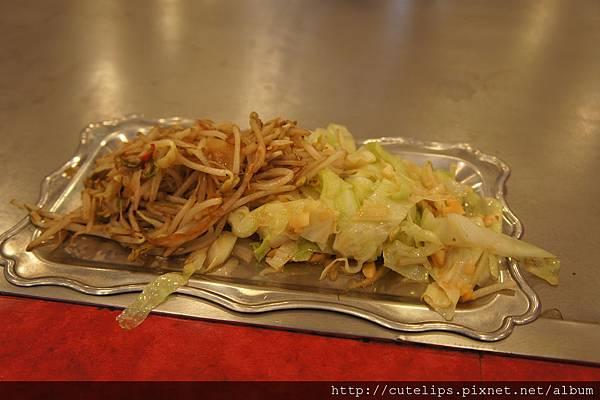 豆芽菜&高麗菜