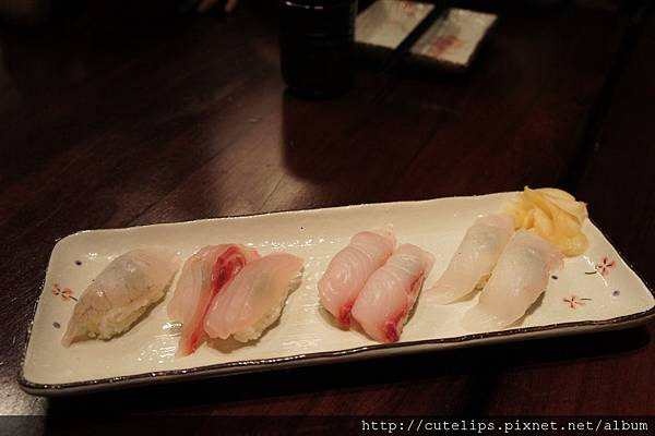 時令鮮魚握壽司