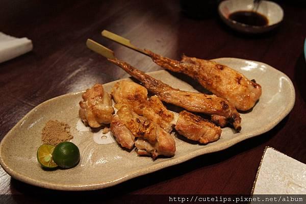土雞腿&雞翅鹽燒串