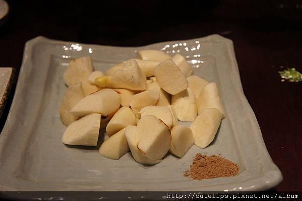 鹽烤筊白筍