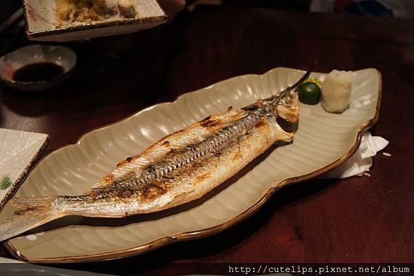 水針魚鹽燒