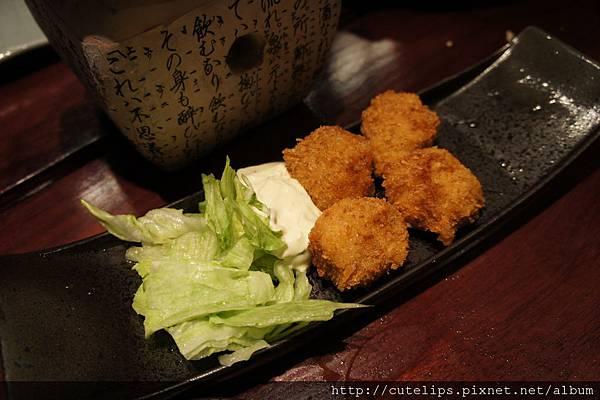 酥炸北海道大干貝