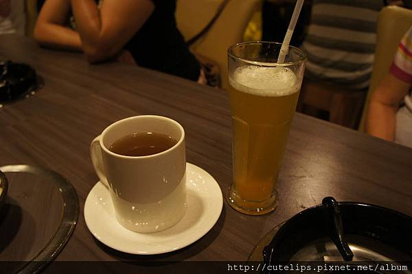 熱養生枸杞菊花茶&冰柚香蜜綠