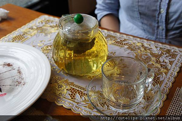 熱洋甘菊茶