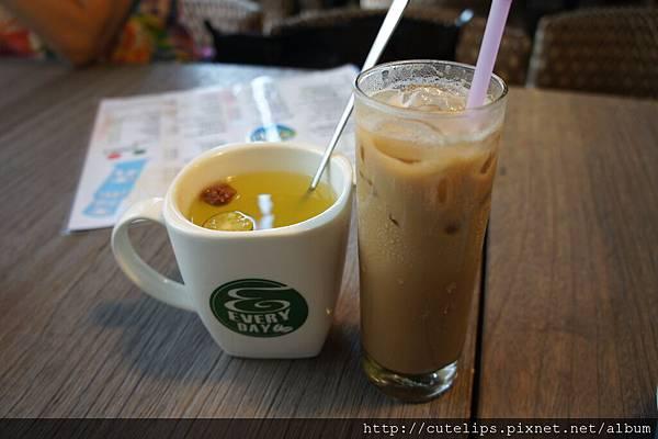 熱桔汁&冰咖啡