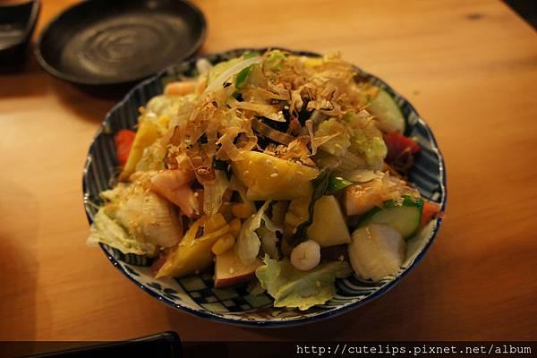 和風生菜水果沙拉