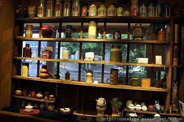 一樓茶舖內部環境