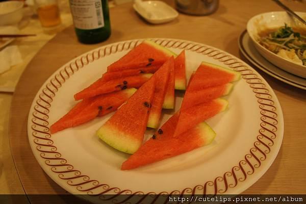 飯後招帶水果