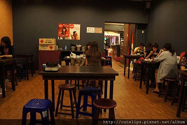 唐朝店內用餐區