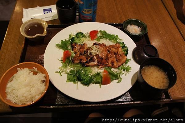 碳烤雞肉香橘醋定食101/9/22
